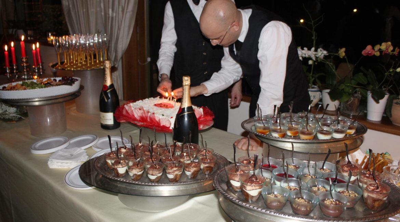 Chef a domicilio per il compleanno di Gian Paolo